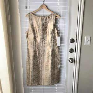 Gold Cocktail Dress
